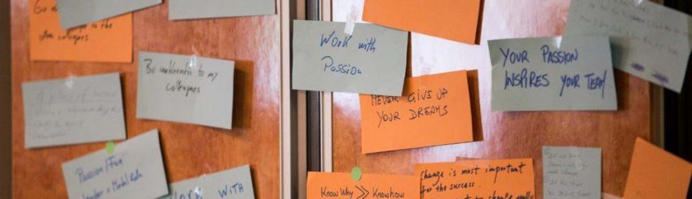 Arbeit mit Leidenschaft
